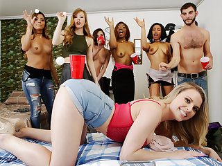 Ivy Wolfe & Nicole Rey & Aubrey Sinclair in My Gf Likes To Party - GFRevenge