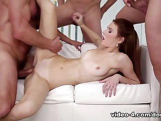 Incredible pornstars Timea Bela, George Uhl in Horny Small Tits, Gangbang porn movie